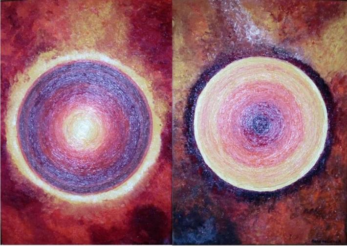 Mars-Bélier. Positif-jour & négatif-nuit.